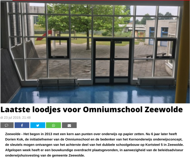 20190723 screenshot Harderwijker Courant